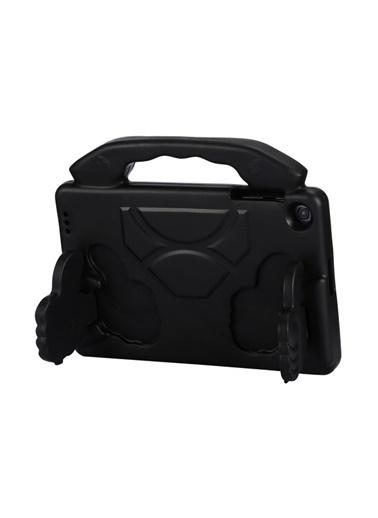 MobilCadde Eiroo Like Huawei MediaPad T5 10 inç Ultra Koruma Siyah Kılıf Siyah